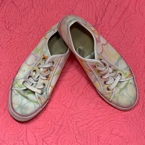 Coach Multi-Color Sneakers Size 8.5